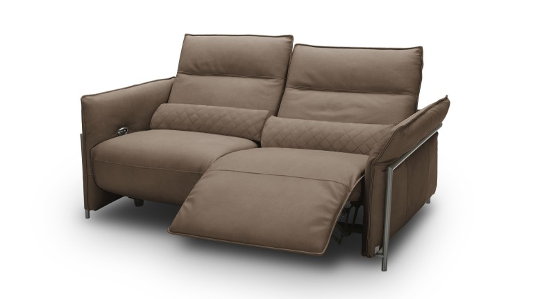 canape cuir relax 3places taupe9922 hoje mobiliermoss