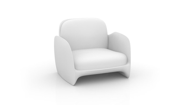 Fauteuil design contemporain pezzettina mobiliermoss