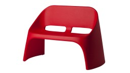 canape design slide empilable rouge amelie mobiliermoss