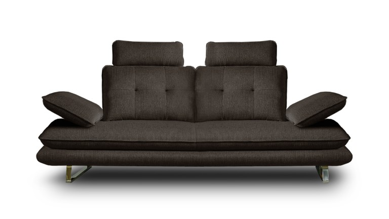 canap relax kosveg 2 places en tissu avec dossier r glable mobilier moss. Black Bedroom Furniture Sets. Home Design Ideas