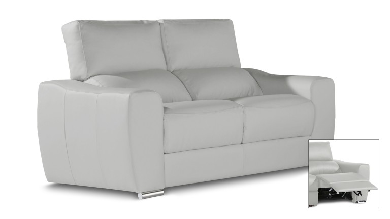 Canape Relax 2places Cuir Iris Agueda Mobiliermoss