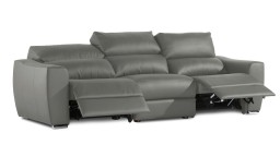 canape relax 3places cuir gris piedra agueda 2 mobiliermoss