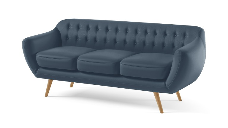 canape similicuir 3places bleu09 ondigy mobiliermoss