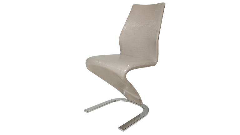 chaise croco pied metal 3 cadix mobiliermoss