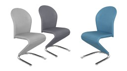 Chaise tissu design contemporain - Awans