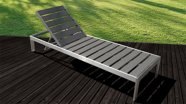 chaise longue aluminium irwan mobiliermoss