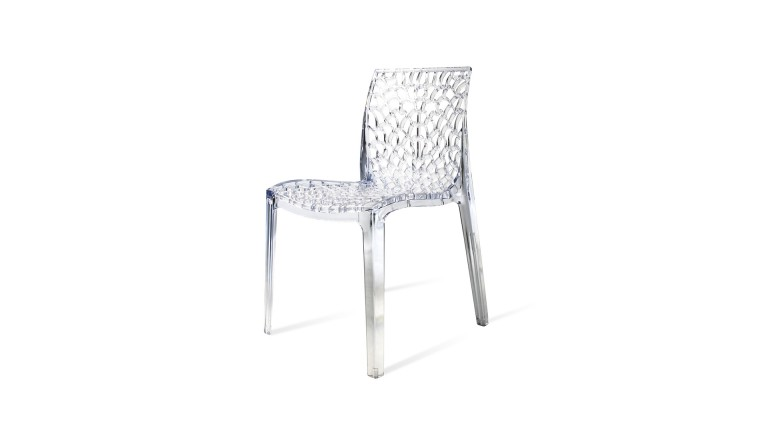 chaise plexi transparente mobiliermoss - Chaise Transparente