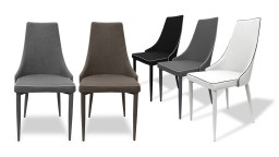 Chaise design bicolore - Assen