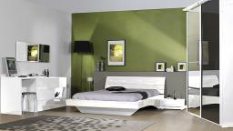 chambre arco laque blanc mobiliermoss