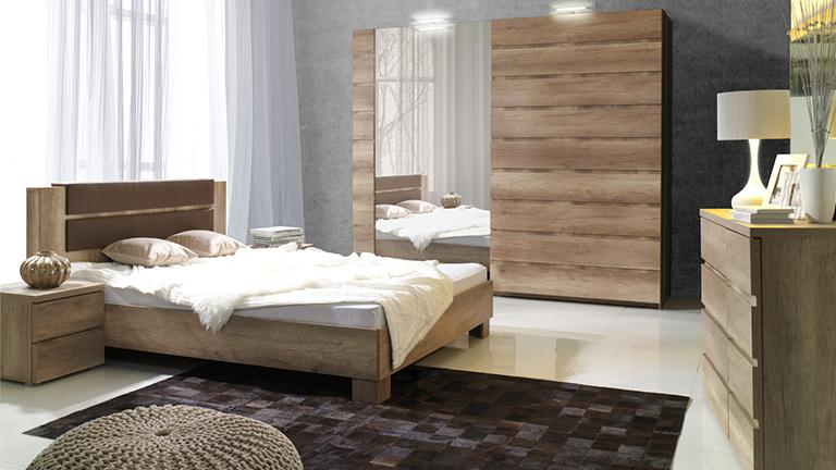 photo de chambre a coucher adulte en bois id e inspirante pour la conception de. Black Bedroom Furniture Sets. Home Design Ideas