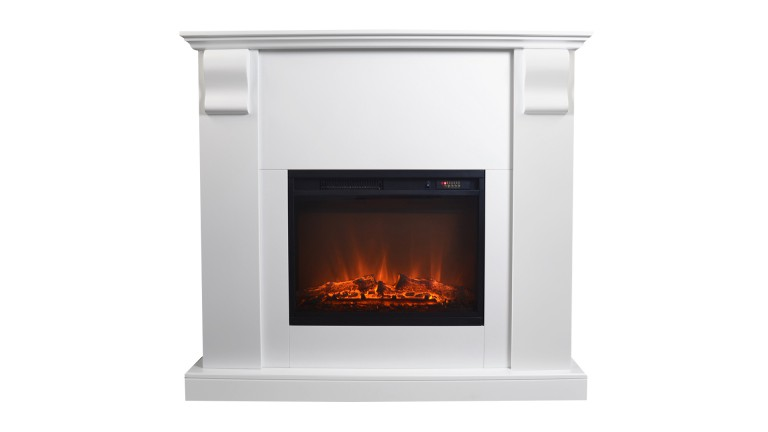 cheminee electrique manteau blanc 2 kamin royal white