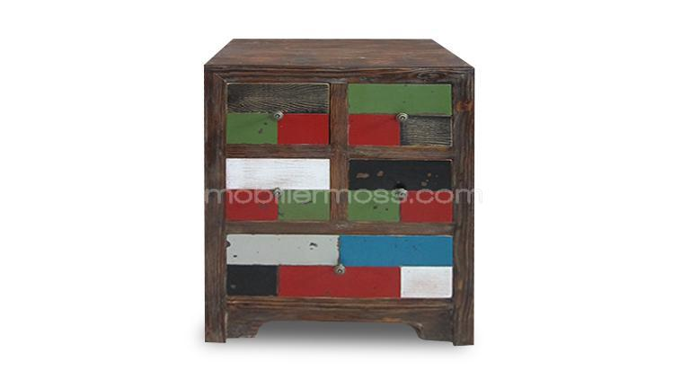 chevet multicolore brasilia mobiliermoss