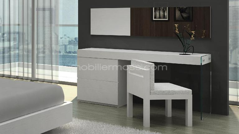 coiffeuse bureau design crystalline mobilier moss mobilier moss. Black Bedroom Furniture Sets. Home Design Ideas