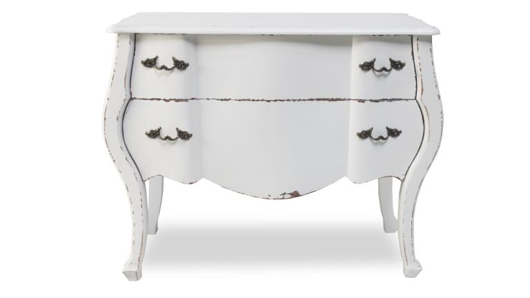 commode blanche originale
