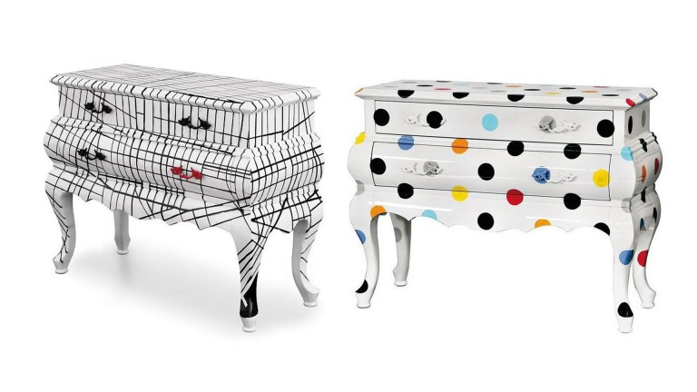 commode seletti collection 2motifs wary mobiliermoss