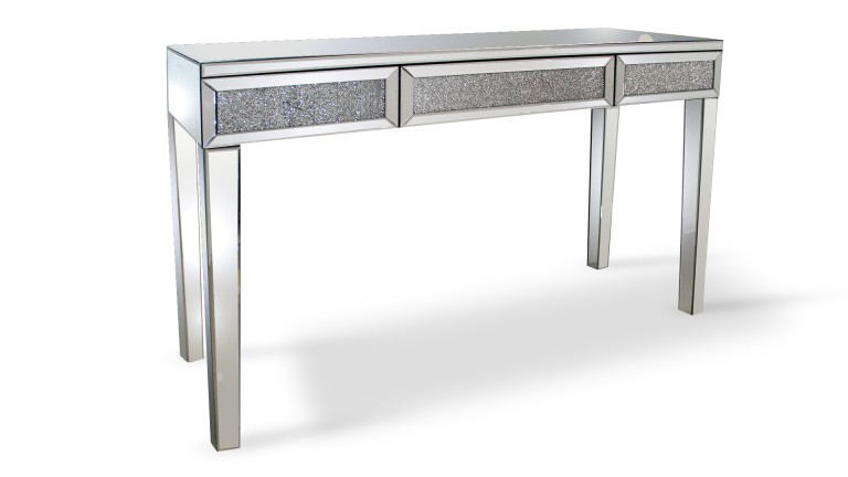 console 3tiroirs strass manihi mobiliermoss