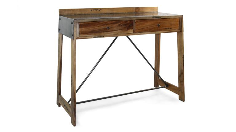 console bois metal manchester mobilier moss