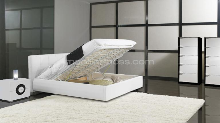t te de lit avec rangement int gr images. Black Bedroom Furniture Sets. Home Design Ideas