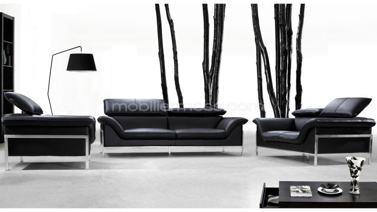 promo ensemble salon fixe. Black Bedroom Furniture Sets. Home Design Ideas