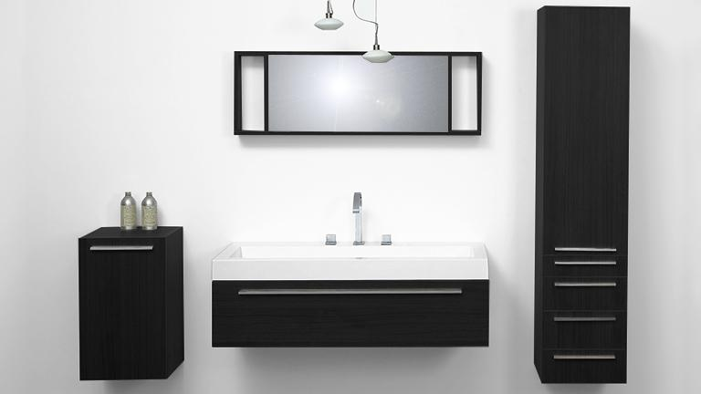 ensemble salle de bain simple vasque elettra mobilier moss. Black Bedroom Furniture Sets. Home Design Ideas