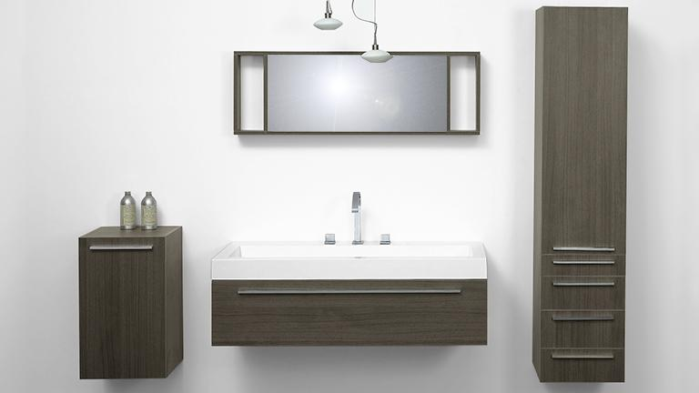 Ensemble salle de bain simple vasque elettra mobilier moss for Photo sdb moderne