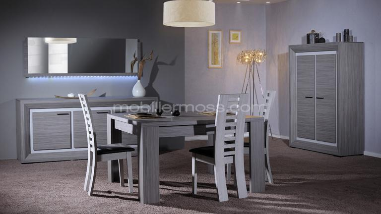 salle manger complete table carree. Black Bedroom Furniture Sets. Home Design Ideas