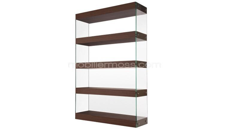 Bibliotheque verre for Etagere verre