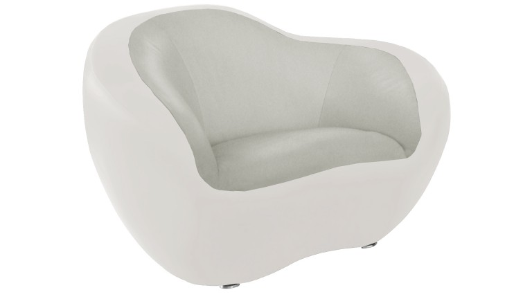 fauteuil bicolore assise gris428 cote blanc design organique mobiliermoss