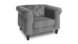 fauteuil chesterfield velours N68gris eriko 2 mobiliermoss