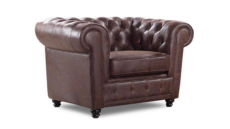 fauteuil chesterfield en tissu design liverpool mobilier moss. Black Bedroom Furniture Sets. Home Design Ideas