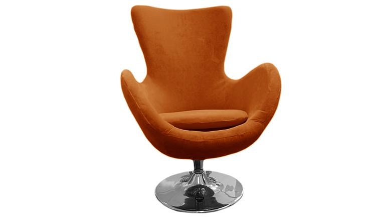 fauteuil design soft orange s5 mobiliermoss