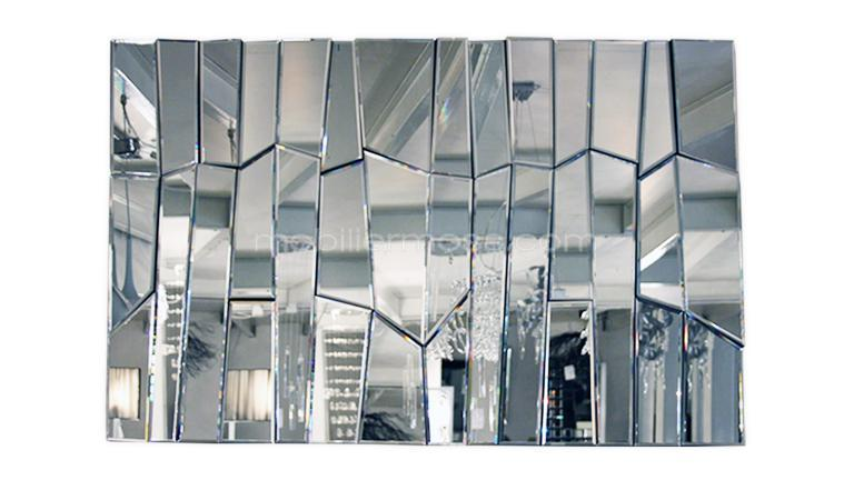 Grand miroir contemporain for Grand miroir salon