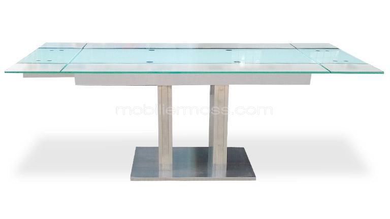 Blanche urban dictionary white gold - Table verre noir extensible ...