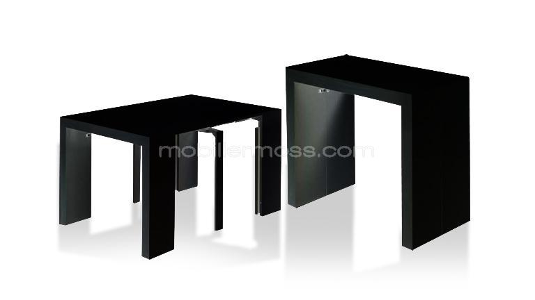 Table manger design flex modulable en console mobilier for Table a rallonge console