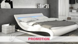 lit design eclairage led sommier blanc tolvas PROMOTION mobiliermoss