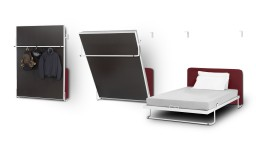Vertical bed - Cama plegable vertical