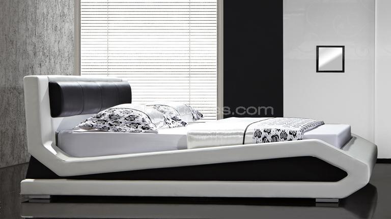 lits design en cuir rocket un lit moderne en cuir au design contemporain mobilier moss. Black Bedroom Furniture Sets. Home Design Ideas