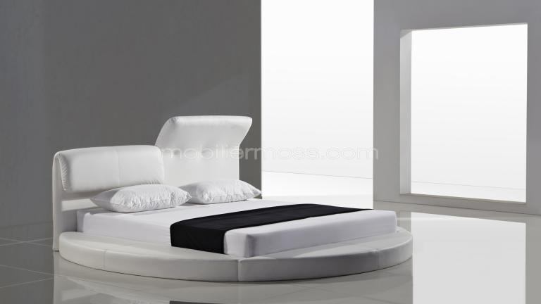 lit design rond. Black Bedroom Furniture Sets. Home Design Ideas