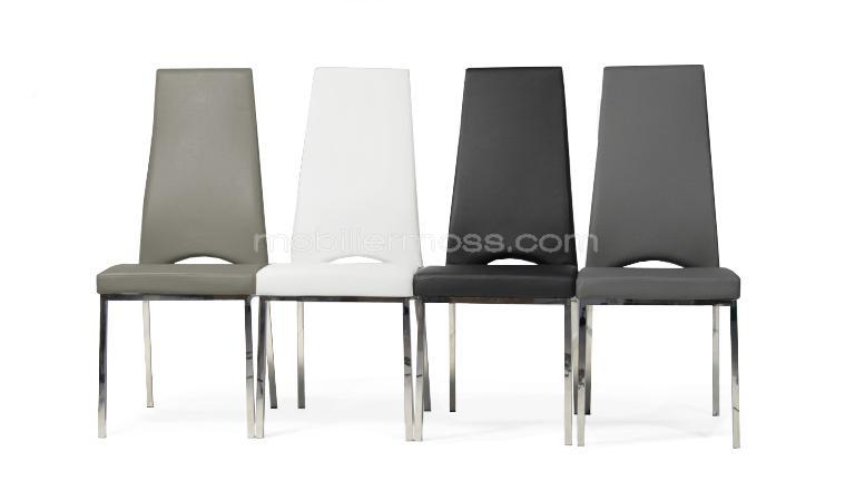 lot 4 chaises rebekah couleur mobiliermoss