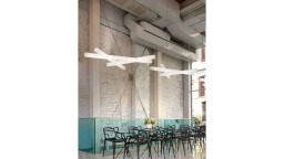 lustre rampes leds design contemporain mesh 1 mobiliermoss