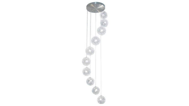 Lustres design star un lustre moderne au design for Lustre suspension design