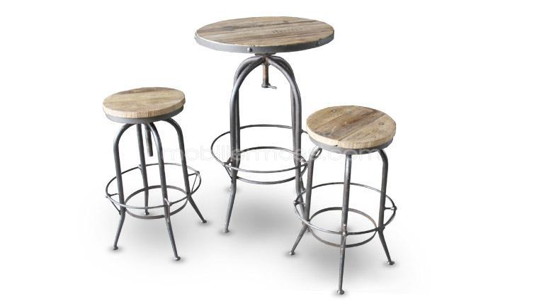 Tabouret table definition for Table et tabouret bar