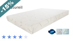matelas memoire night ampli blanc