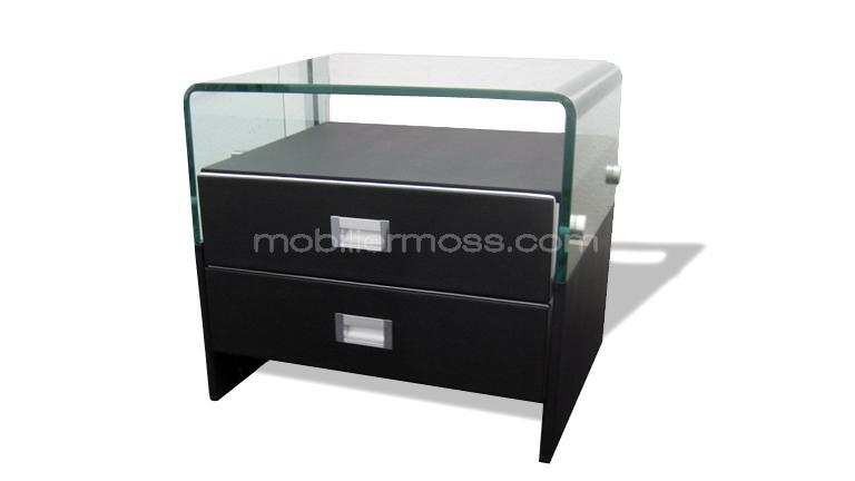 chevet moderne. Black Bedroom Furniture Sets. Home Design Ideas