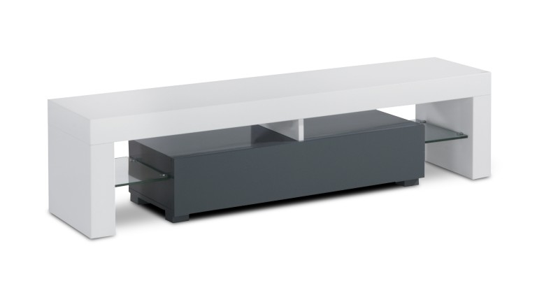 meuble tv blanc gris ferik mobiliermoss
