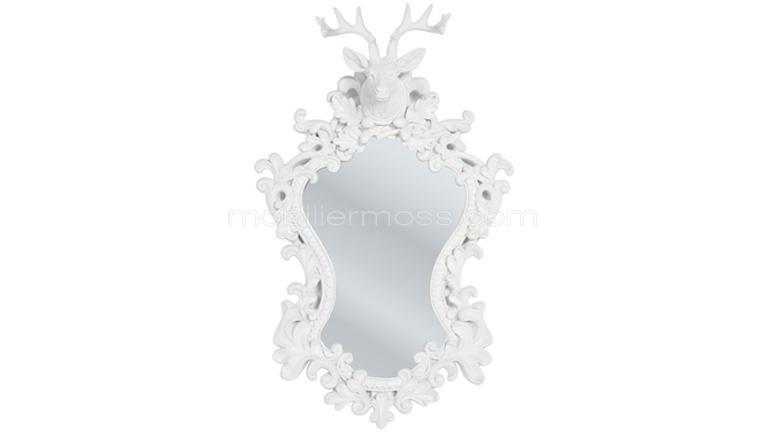 miroir baroque charme mobilier moss oural mobilier moss montagne cerf