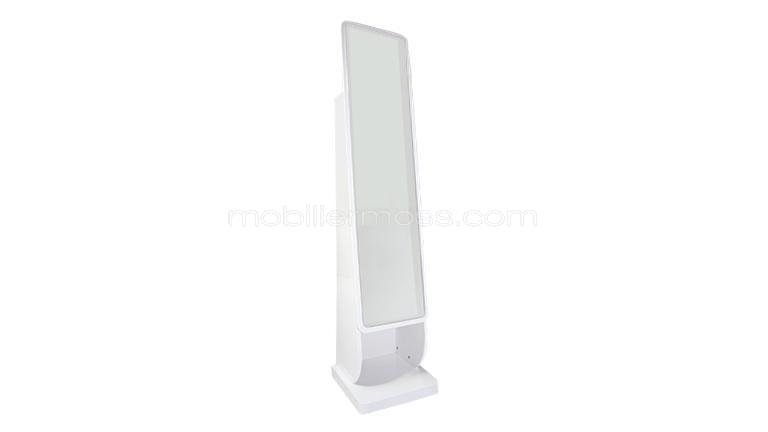 Miroir psych laqu blanc cubydress mobilier moss for Miroir definition
