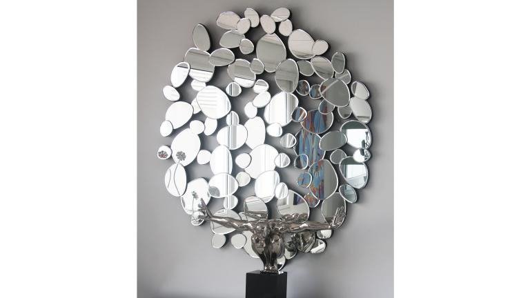 Vente de miroirs design lomi un superbe grand miroir au for Miroir decoratif pour salon