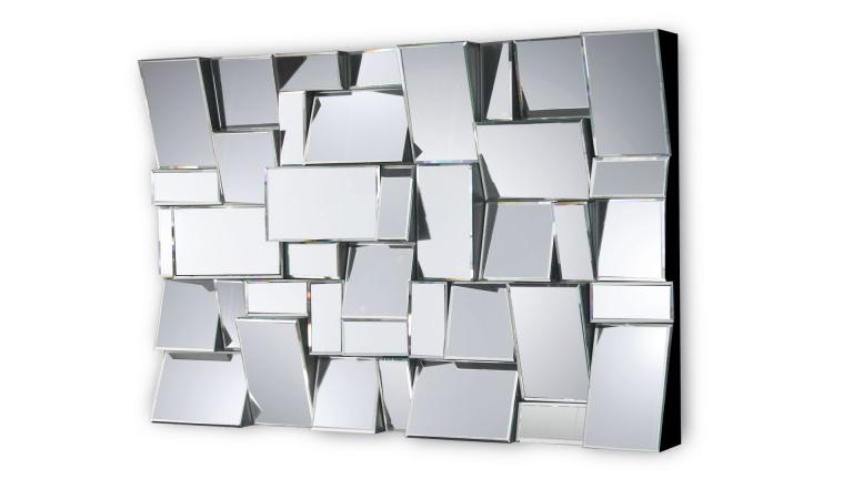 Miroir Design De Grande Qualite Fait Main Brens Dimension 120x80x12