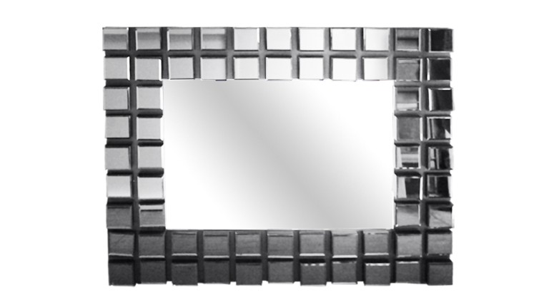 miroir rectangulaire multifacette design carreau andria mobiliermoss